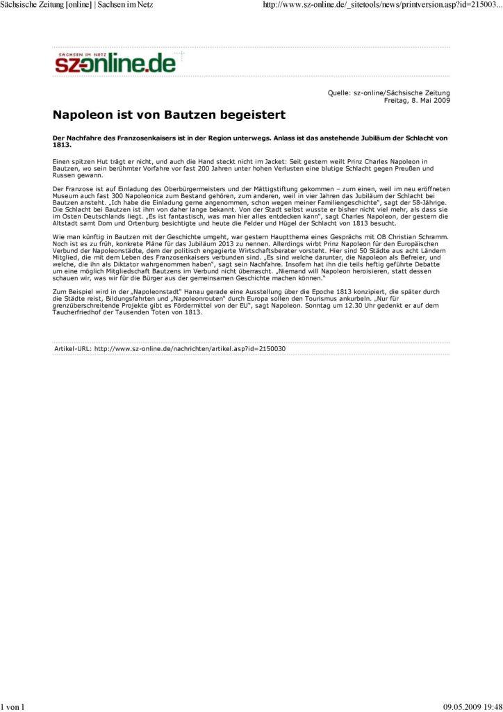 090508 bautzen Sachsische Zeitung online.. page 001 2