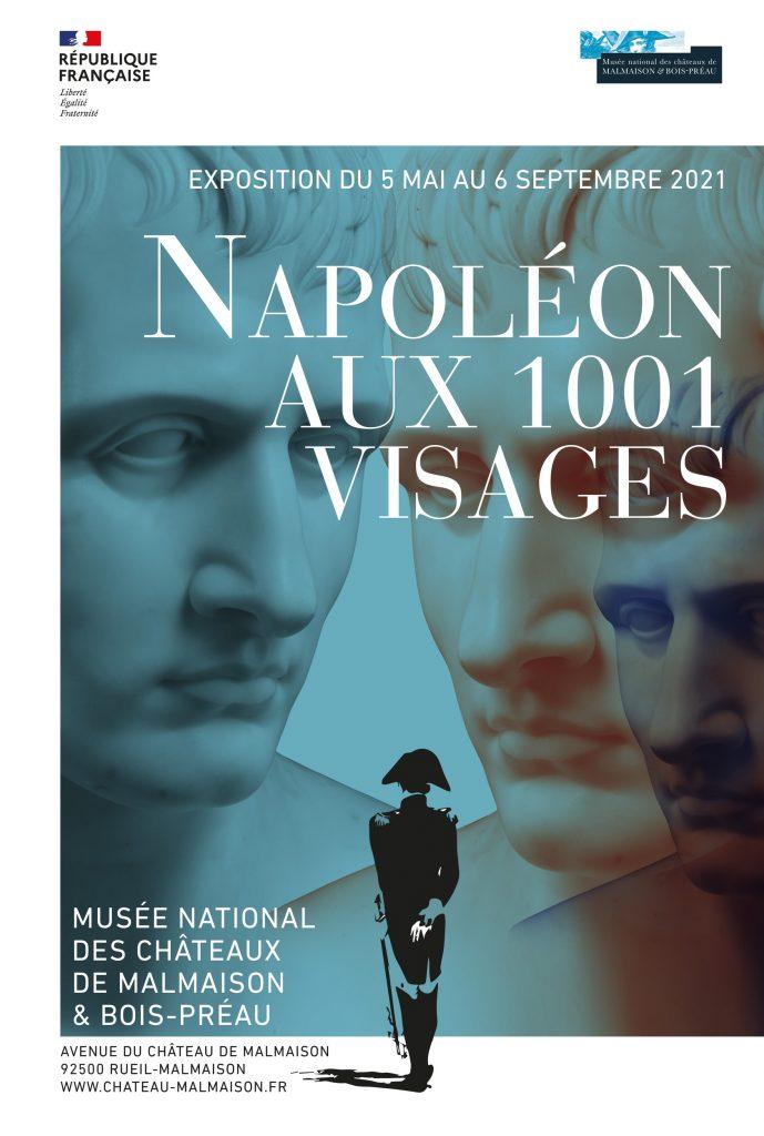 Affiche Expo 1001 visages 2