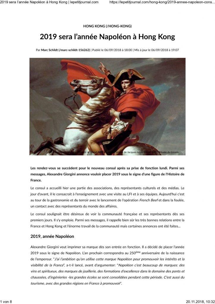 Napoleon Hong Kong 2019 page 0001