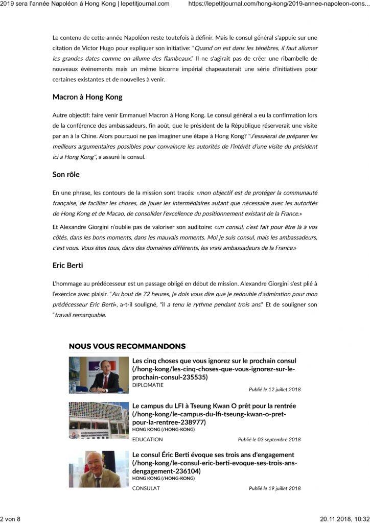 Napoleon Hong Kong 2019 page 0002