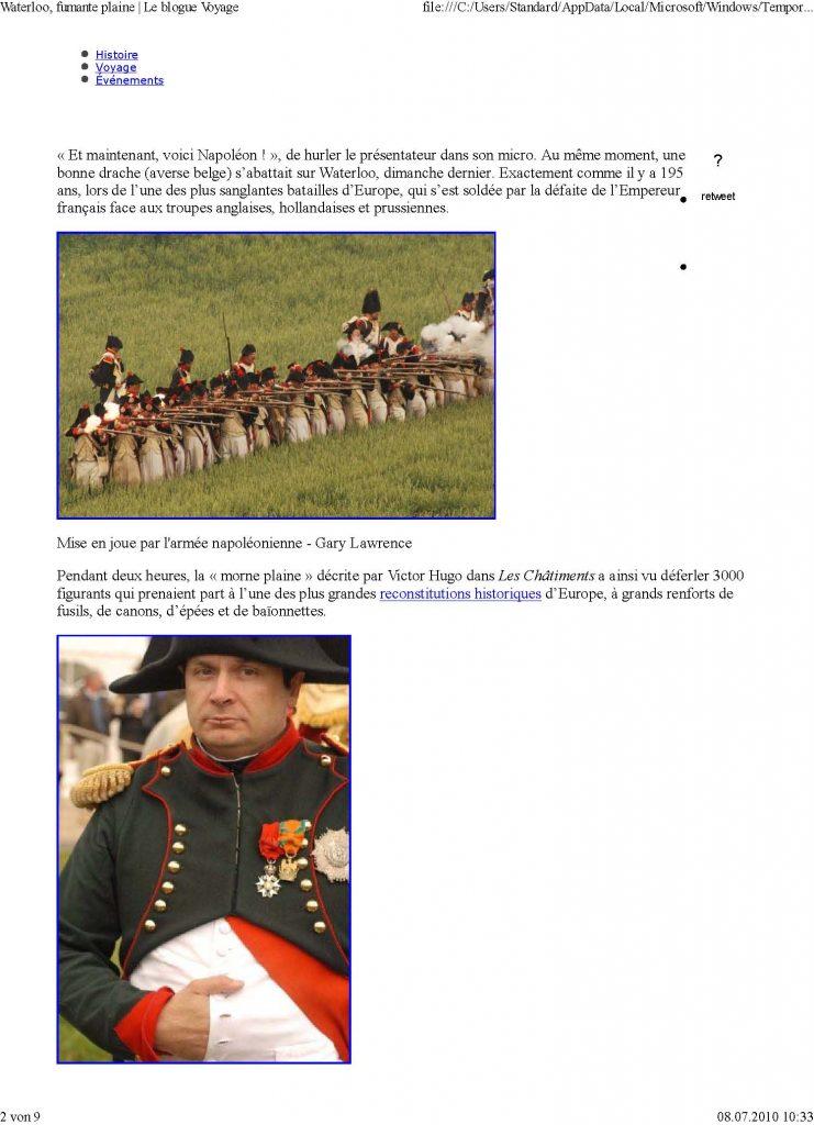 100618 Waterloo fumante plaine .. Seite 1